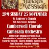 Handel's Messiah, St Andrew's, Brighton, Sunday 25 November 2018